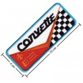 Chevrolet Corvette Style-3 Embroidered Sew On Patch