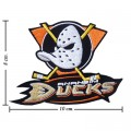 Anaheim Mighty Ducks Style-2 Embroidered Sew On Patch