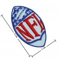 National Football Leagues NFL Style-1 Embroidered Iron On/Sew On Patch