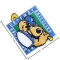 Gateway Grizzlies Style-1 Embroidered Iron On/Sew On Patch