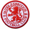Middlesbrough Style-2 Embroidered Sew On Patch