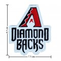 Arizona Diamondbacks Style-1 Embroidered Iron On/Sew On Patch