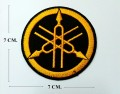 Yamaha Motors Style-9 Embroidered Sew On Patch
