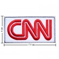 CNN Cable News Network Style-1 Embroidered Sew On Patch