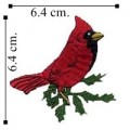 Cardinal Style-1 Embroidered Sew On Patch