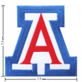 Arizona Wildcats Style-1 Embroidered Iron On/Sew On Patch