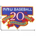 MLB Baseball 20th Anniversary 1983-2003 Embroidered Iron On/Sew On Patch
