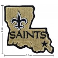New Orleans Saints Style-2 Embroidered Iron On/Sew On Patch