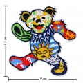 Colorful Bear Embroidered Embroidered Sew On Patches