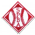 MLB Senior Pro Baseball Association Style-1 Embroidered Iron On/Sew On Patch