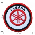 Yamaha Motors Style-1 Embroidered Sew On Patch
