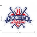 Frontier League Style-1 Embroidered Sew On Patch