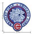 Chicago Cubs Stadium Style-1 Embroidered Iron On/Sew On Patch