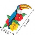 Toucan Style-2 Embroidered Sew On Patch