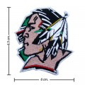 North Dakota Fighting Sioux Style-1 Embroidered Iron On/Sew On Patch