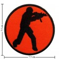 Counter Strike Action Game Style-1 Embroidered Sew On Patch