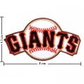 San Francisco Giants Style-1 Embroidered Iron On/Sew On Patch