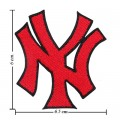 New York Yankees Style-2 Embroidered Iron On/Sew On Patch