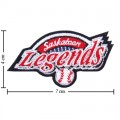 Saskatoon Legends Style-1 Embroidered Sew On Patch