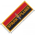 Spark Plugs Style-1 Embroidered Sew On Patch
