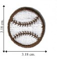 Baseball Embroidered Sew On Patch