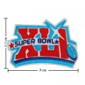Super Bowl XLI 2006 Style-41 Embroidered Sew On Patch