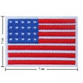 United States Of American Nation Flag Style-1 Embroidered Sew On Patch