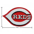 Cincinnati Red Style-1 Embroidered Iron On/Sew On Patch