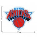 New York Knickerbockers Style-1 Embroidered Sew On Patch