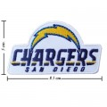 San Diego Chargers Style-2 Embroidered Iron On/Sew On Patch