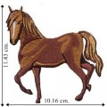 Horse Cowboy Style-2 Embroidered Sew On Patch