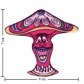 Colorful Magic Mushroom Sign Style-11 Embroidered Sew On Patch