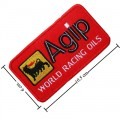 Agip Oil Style-1 Embroidered Sew On Patch
