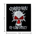 Corrosion Of Conformity Music Band Style-1 Embroidered Sew On Patch