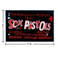 Sex Pistols Music Band Style-7 Embroidered Sew On Patch
