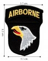101st Airborne Division Army Ssi Embroidered Sew On Patch