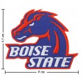 Boise State Broncos Style-1 Embroidered Iron On/Sew On Patch