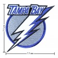 Tampa Bay Lightning Style-1 Embroidered Sew On Patch