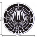 Battlestar Galactica Style-1 Embroidered Sew On Patch