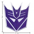 Transformers Decepticon Style-1 Embroidered Sew On Patch