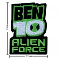 Ben10 Alien Force Style-2 Embroidered Sew On Patch