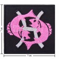 Roman Zodiac Pices Embroidered Sew On Patch