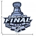NHL Stanley Cup Playoffs 2009 Style-1 Embroidered Sew On Patch