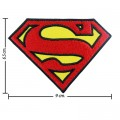 Superman Style-1 Embroidered Sew On Patch
