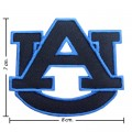 Auburn Tigers Style-2 Embroidered Iron On/Sew On Patch