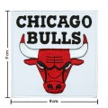 Chicago Bulls Style-1 Embroidered Sew On Patch