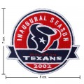 Houston Texans Style-2 Embroidered Iron On/Sew On Patch