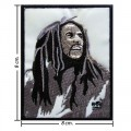 Bob Marley A Reggae Ska Band Style-13 Embroidered Sew On Patch