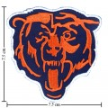 Chicago Bears Style-2 Embroidered Iron On/Sew On Patch