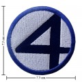 Fantastic Four Style-1 Embroidered Sew On Patch